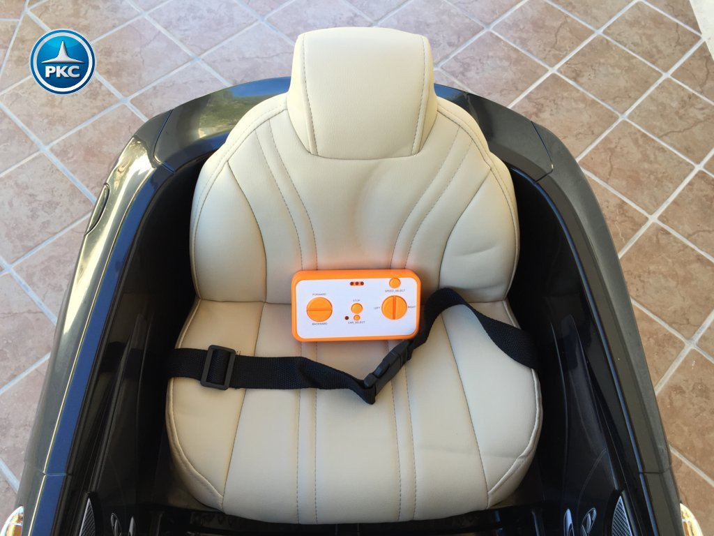 Inforcehss Outlet - Coche electrico para niños Mercedes S63 Negro 9