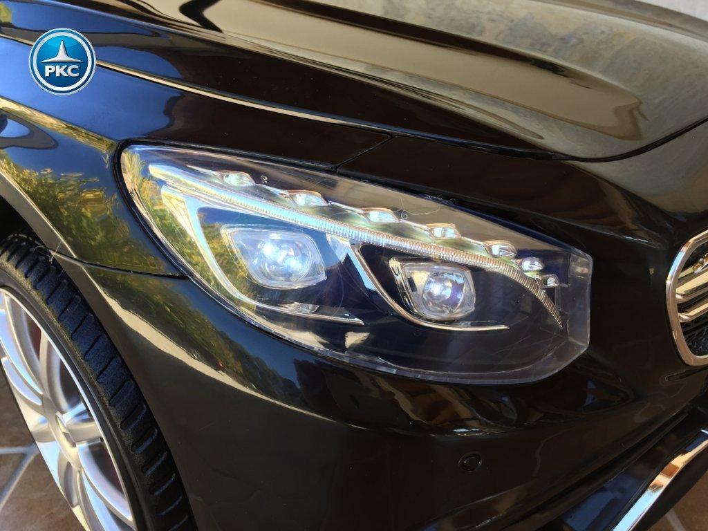 Inforcehss Outlet - Coche electrico para niños Mercedes S63 Negro 8