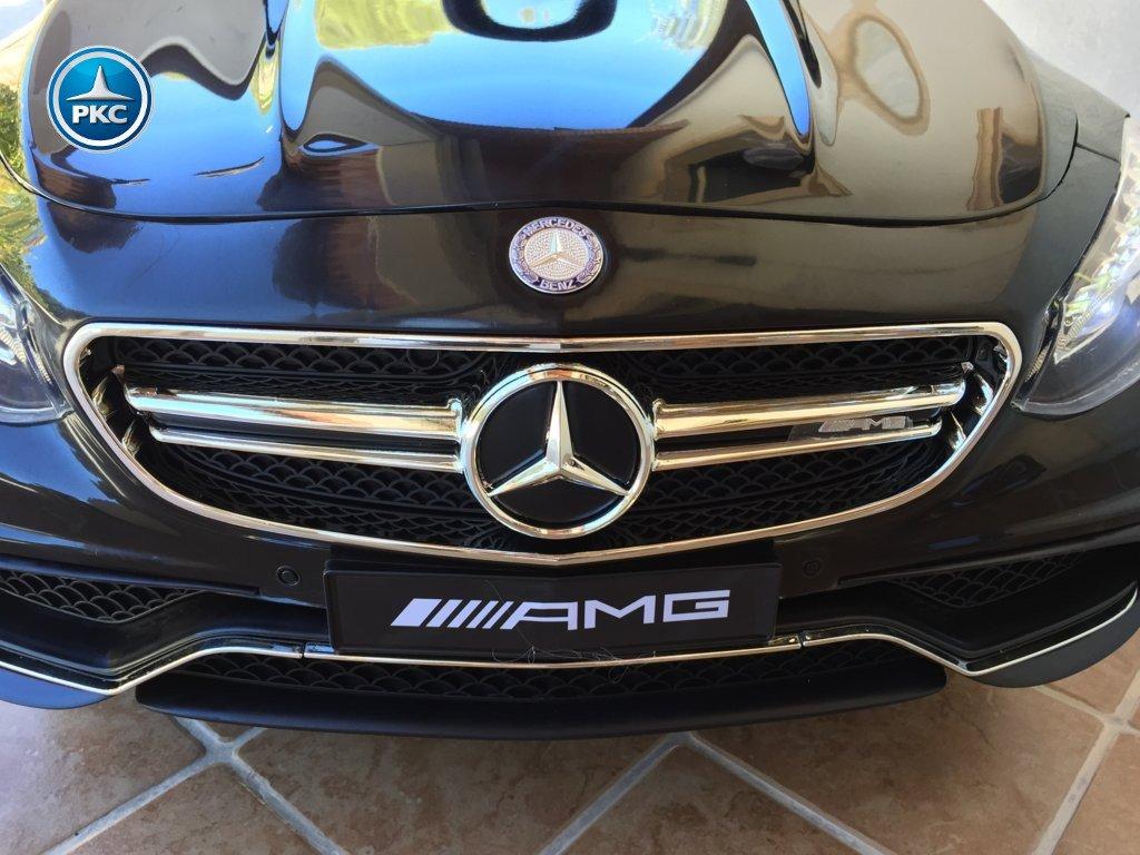 Inforcehss Outlet - Coche electrico para niños Mercedes S63 Negro 7