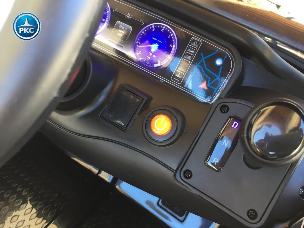 Inforcehss Outlet - Coche electrico para niños Mercedes S63 Negro 6