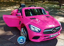 MERCEDES SL500 ROSA FRONTAL