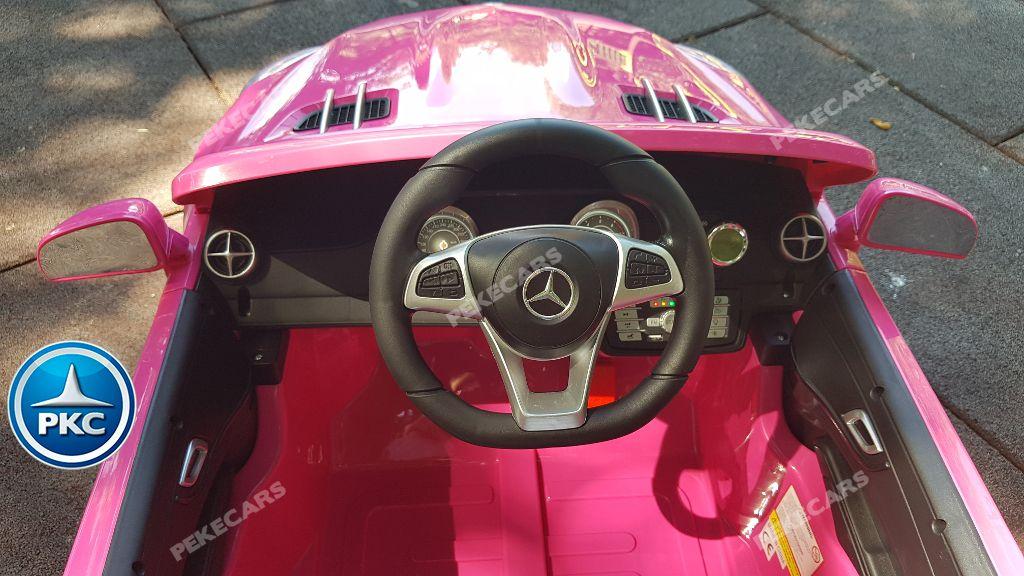 MERCEDES SL500 ROSA VOLANTE