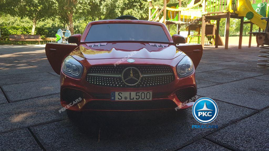MERCEDES SL500 ROJO FRONTAL
