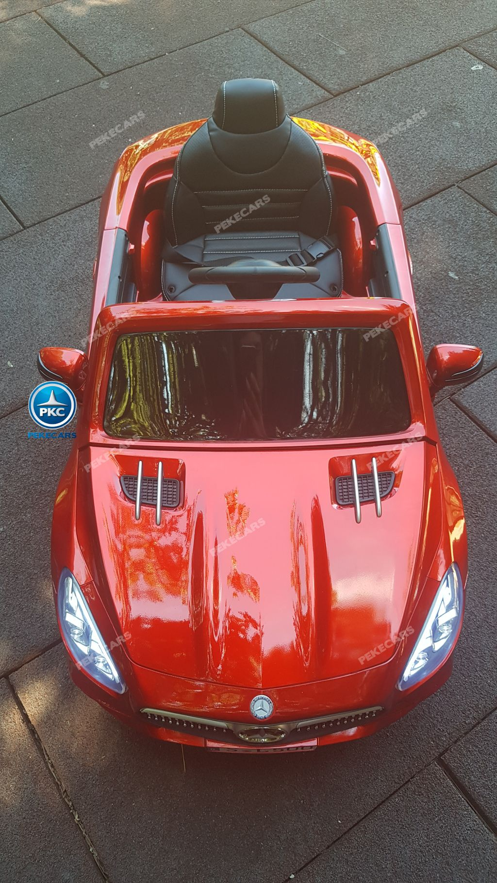 MERCEDES SL500 ROJO SUPERIOR