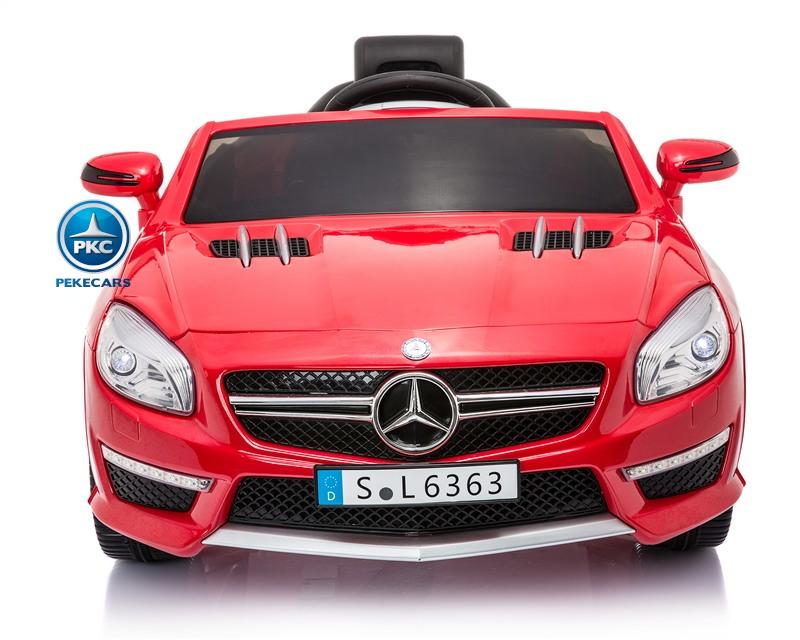 Mercedes SL63 12V Rojo