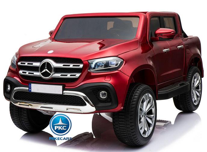 Furgoneta Mercedes Pickup X class Rojo Metalizado