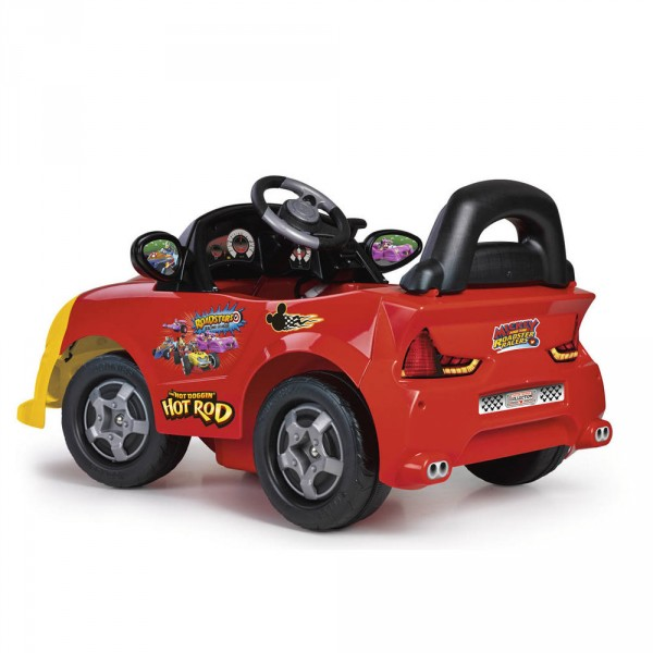 Coche electrico infantil Mickey Hot Rod 6V - Vista trasera