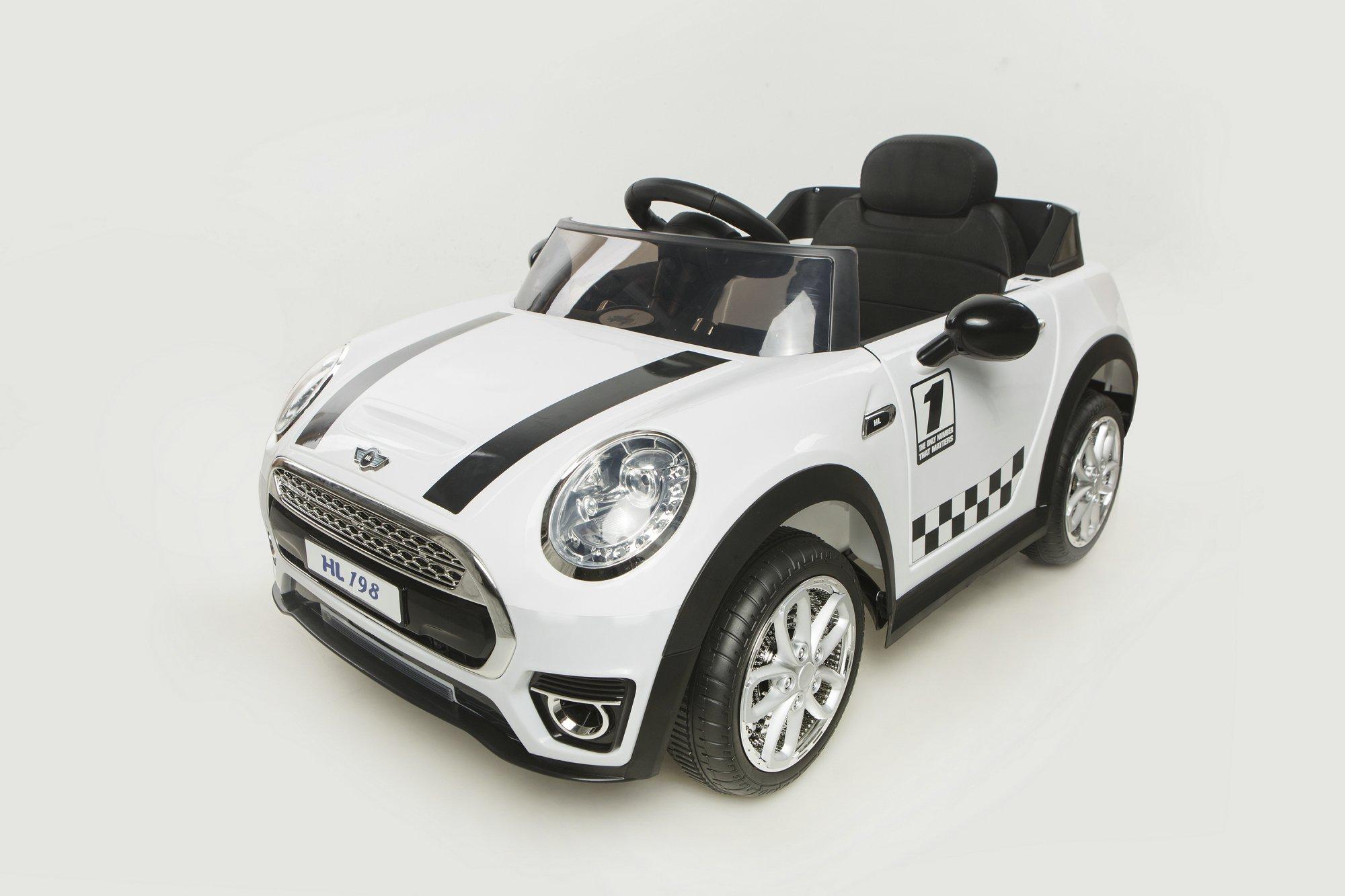 mini luxe style 12v blanco