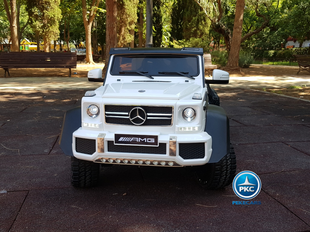 New Mercedes G63 2019 12V 2.4G Blanco