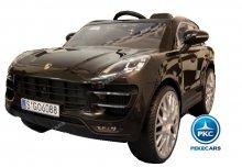 Coche electrico para niños Porsche Macan Negro