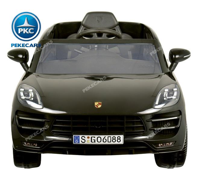 Coche electrico para niños Porsche Macan Negro 4