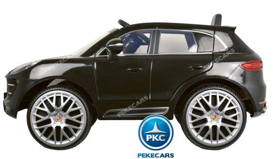 Coche electrico para niños Porsche Macan Negro 5