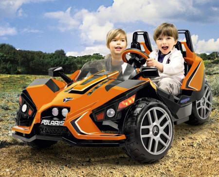 Coche electrico Polaris SlingShot 12V para dos niños