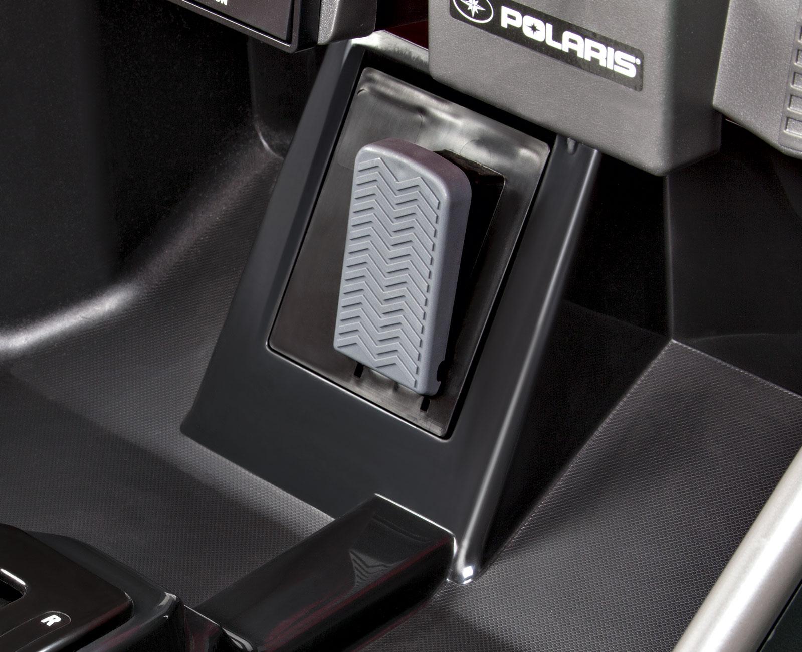 Coche Electrico Polaris 12V dos asientos con pedal acelerador/freno automatico