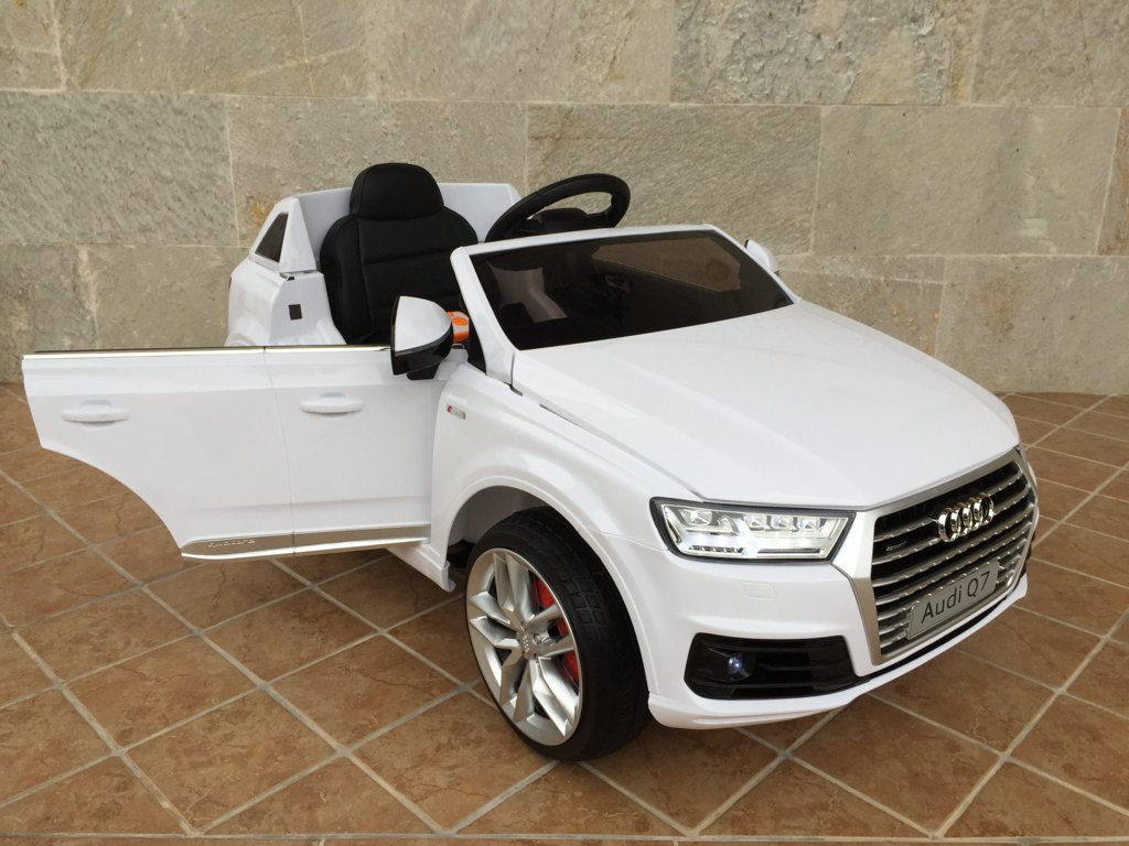 AUDI Q7 FACELIFT BLANCO LATERAL DERECHO 1