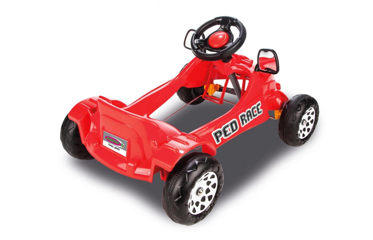 coche pedales jamara rojo