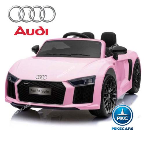 Audi R8 spyder Little Rosa 12V width=