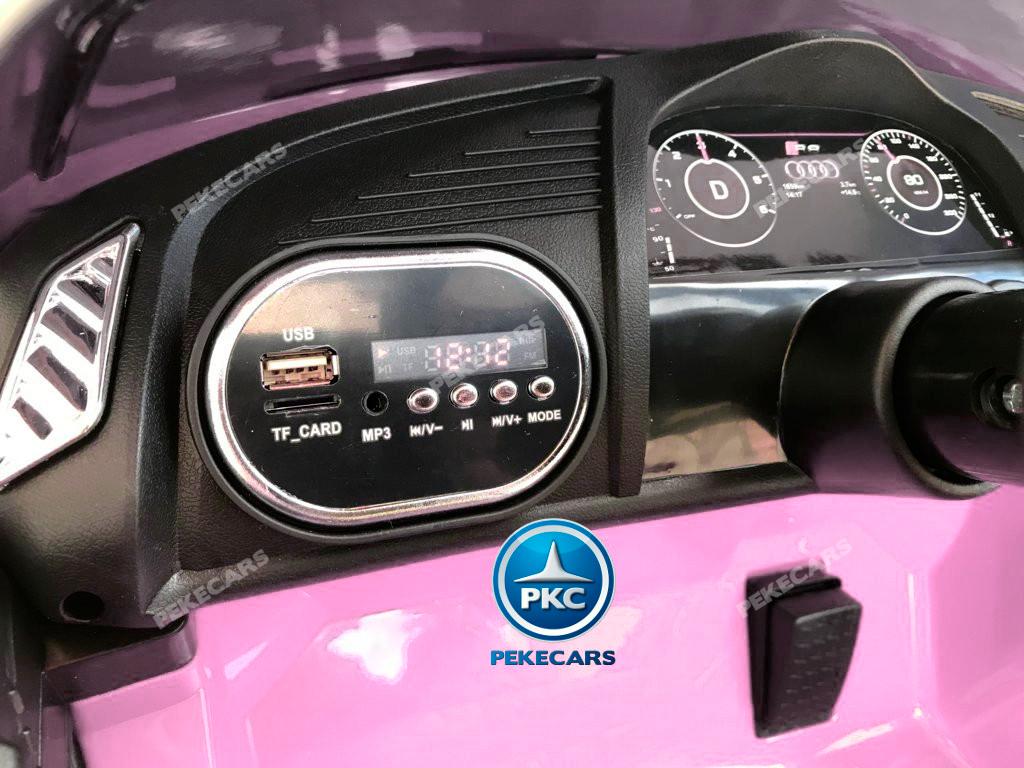 Audi Litle Spyder R8 Rosa 12V width=