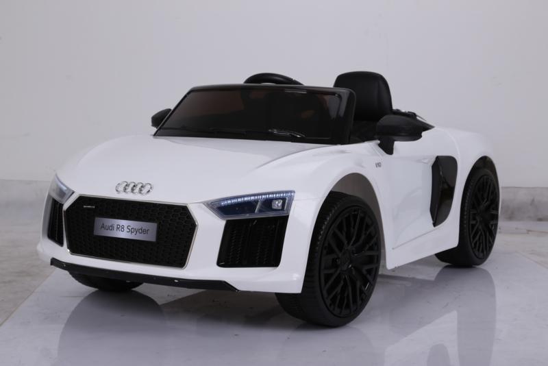 Audi Deportivo infantil R8 Spider 12V para ninos Pekecars color white width=