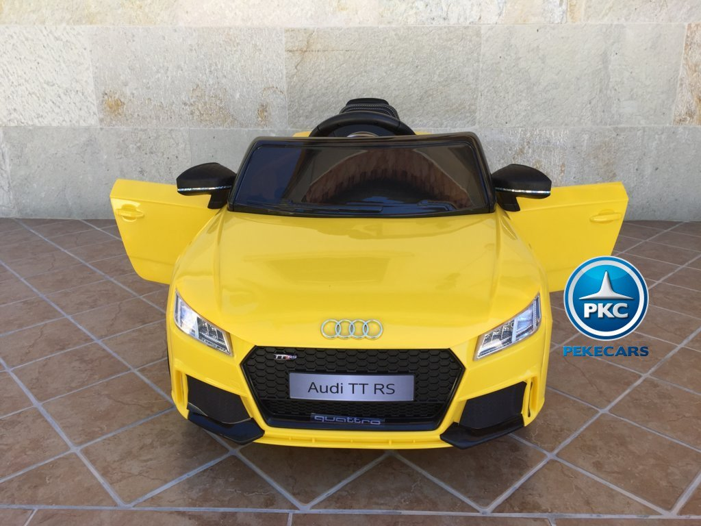 audi tt rs amarillo frontal width=