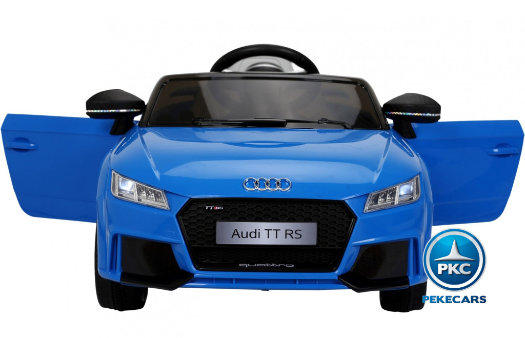 audi tt rs azul frontal