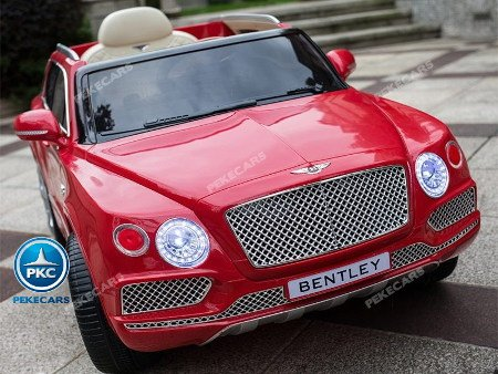 Bentley Bentayga 12V infantil color rojo
