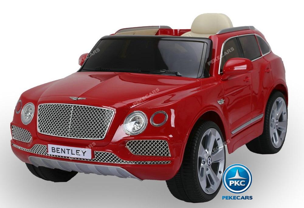 Bentley Bentayga 12V infantil vista lateral