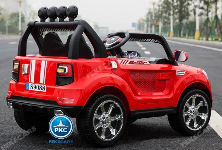 BMW X7 style 2 plazas rojo