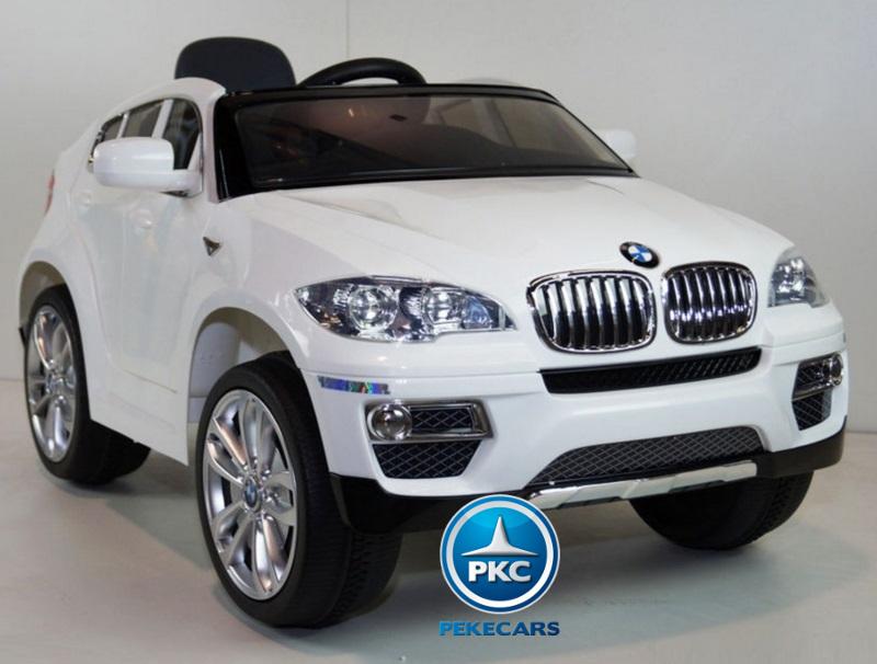 BMW X6 BLANCO LATERAL DERECHO