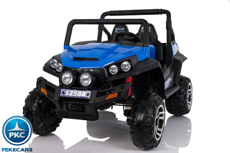 Buggy 4x4 12V 2 Plazas 2.4G color Azul