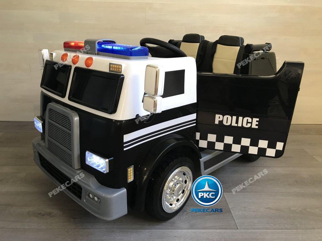 CAMION POLICIA LATERAL IZQUIERDO