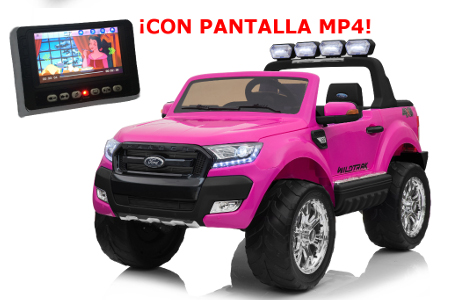 Ford ranger rosa version superior con pantalla MP4