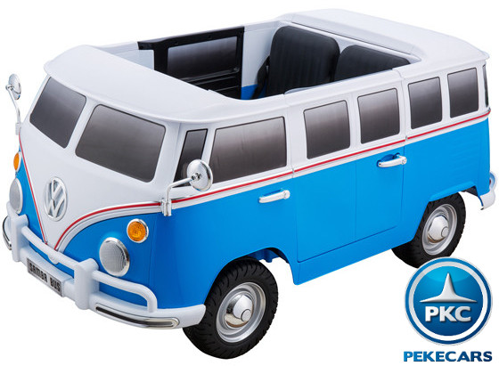 Furgoneta Volkswagen 12V 2.4G 2 plazas Azul width=