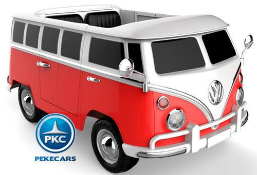 Furgoneta Volkswagen 2 plazas 12V 2.4G Roja