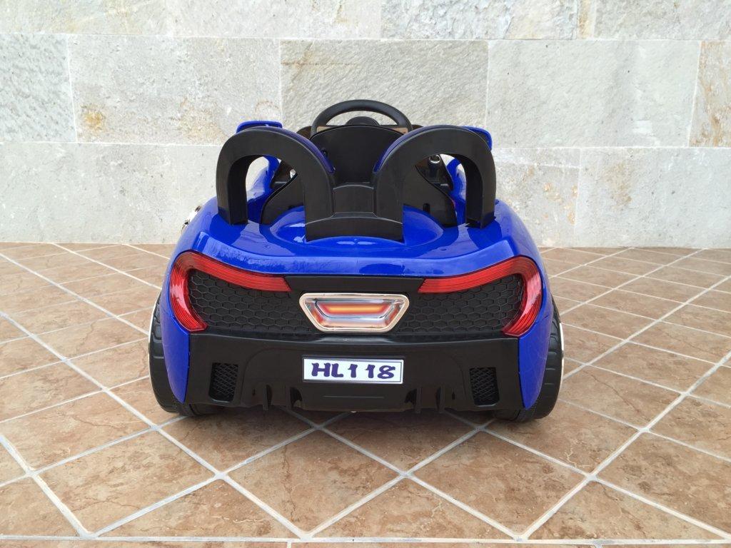 mi primer deportivo 6v azul posterior
