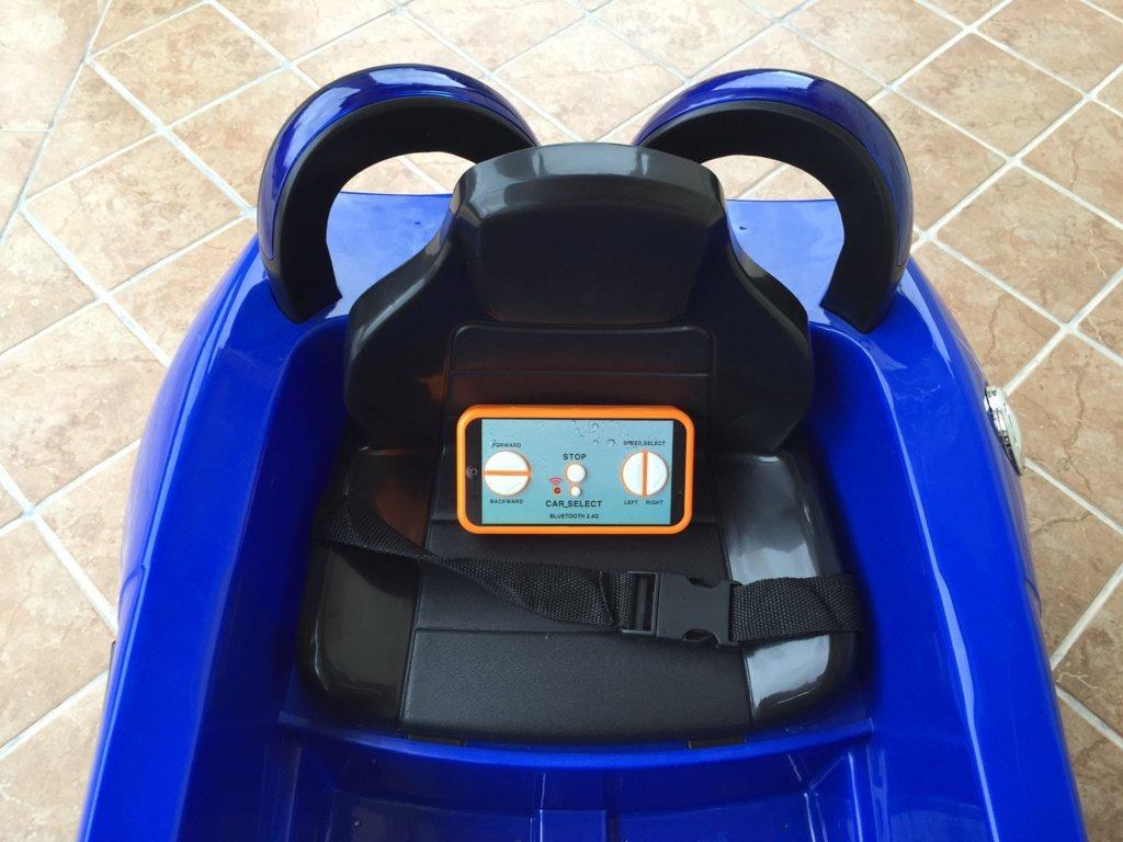 mi primer deportivo 6v azul asiento