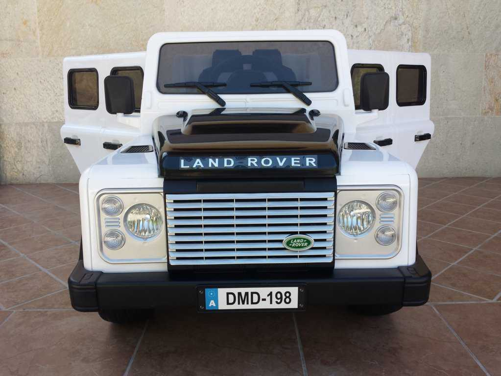 LAND ROVER DEFENDER BLANCO FRONTAL width=
