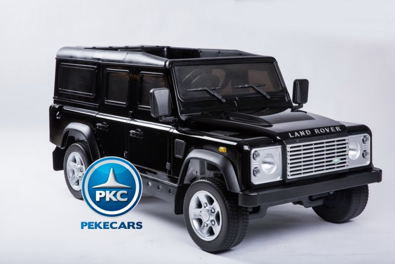 Land Rover Defender 12v 2 4g Black Para Ninos Inforchess