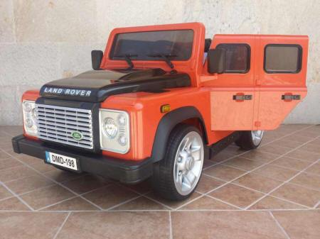 Land Rover Defender 12V 2.4G color Naranja