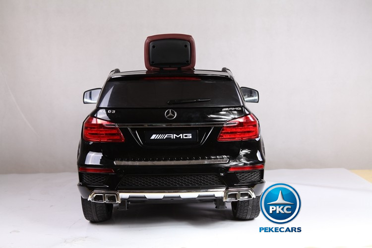 Mercedes GL63 Superior con MP4 2017  Negro PEKECARS