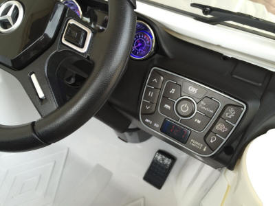 Mercedes G63 Dashboard