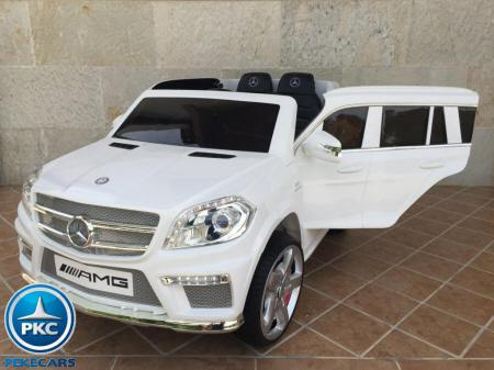 Coche infantil Mercedes GL63 12V 2.4G color Blanco