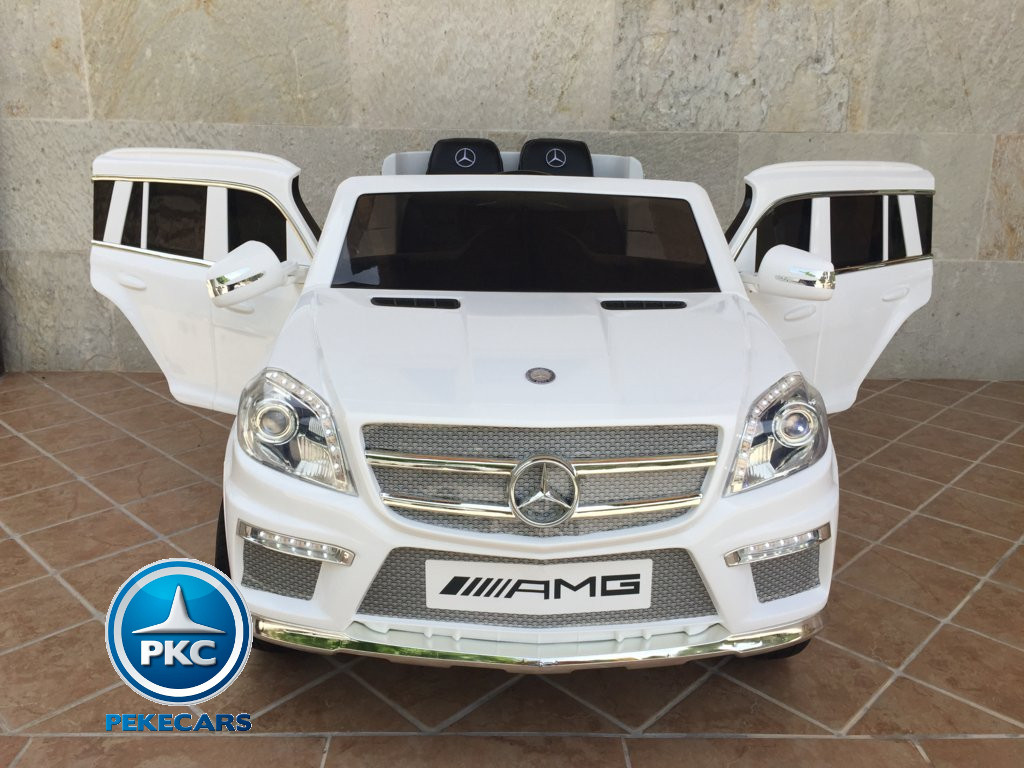 MERCEDES GL63 BLANCO FRONTAL