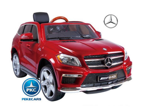 Mercedes GL63 SuperLuxe 4*4 con MP4 2017  Rojo Metalizado