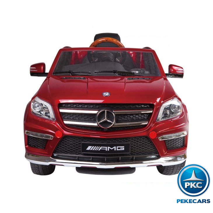 MERCEDES GL63 ROJO SUPERIOR FRONTAL