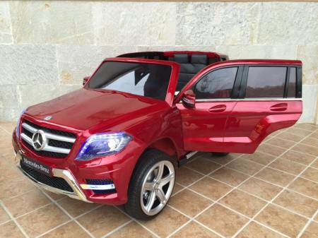 Mercedes GLK350 12V 2.4G color Rojo Metalizado