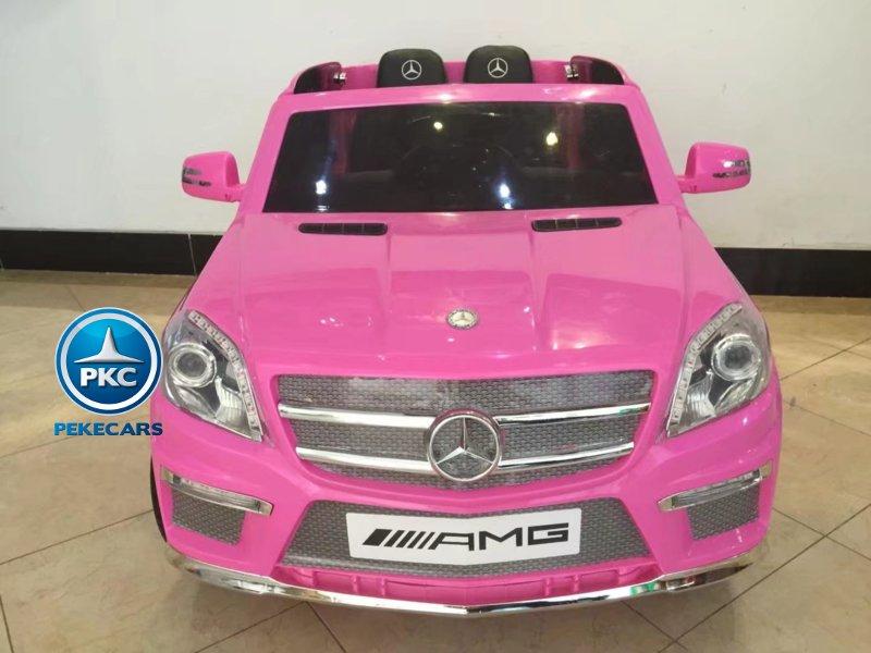Todoterreno Mercedes GL63 vista frontal rosa