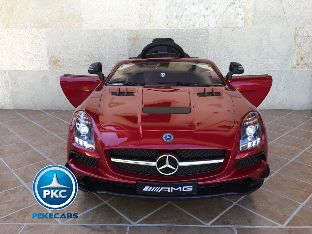MERCEDES SLS ROJO FRONTAL