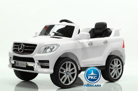 Mercedes ML350 12v 2.4G Blanco