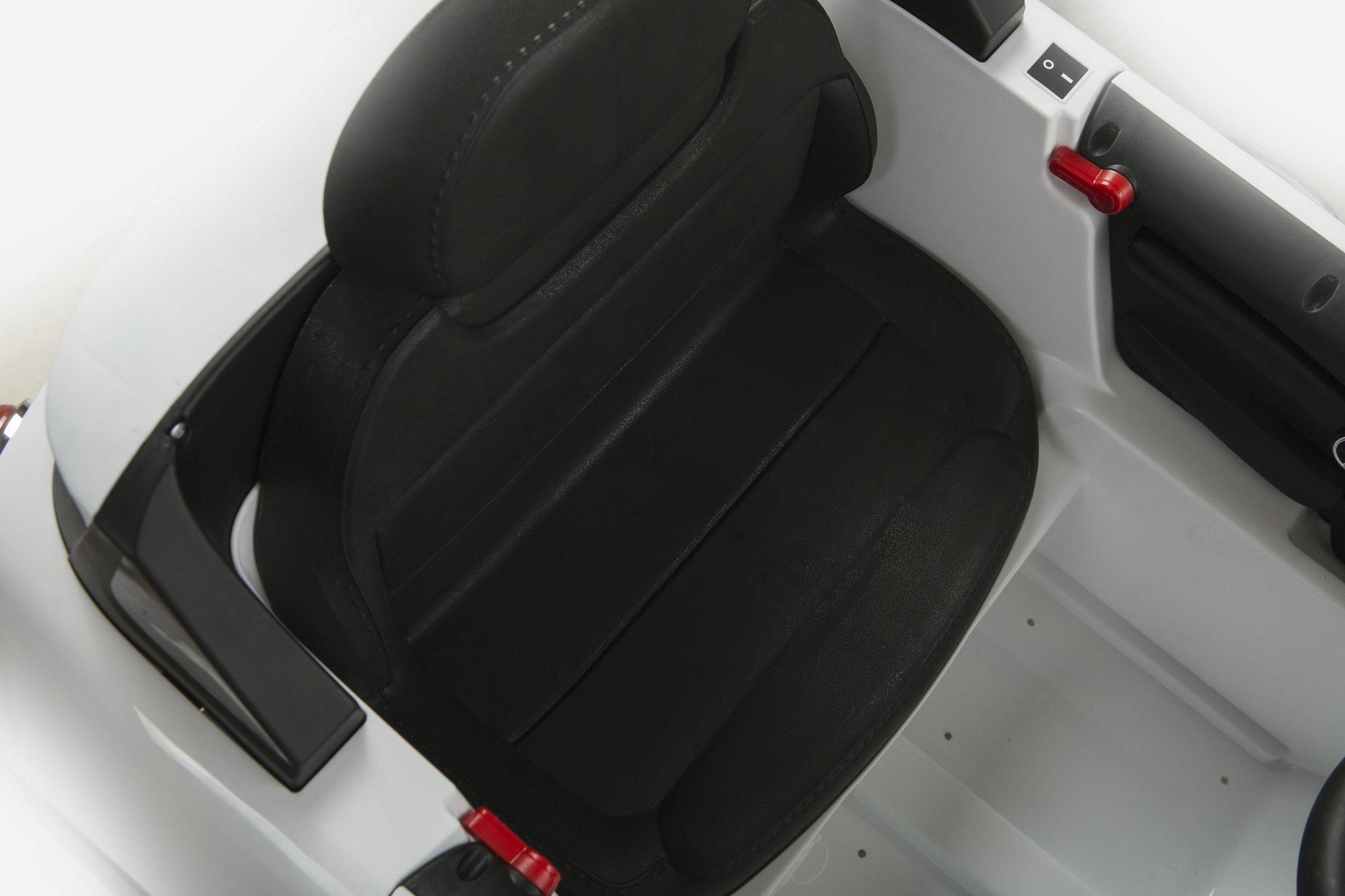 mini luxe style blanco asiento